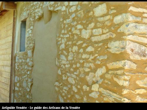 pierre vue en chaux pouzzolannique